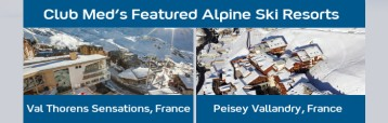 Club Med's Alpine Ski Resorts